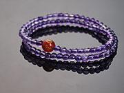 秀氣款雙圈紫水晶手鍊